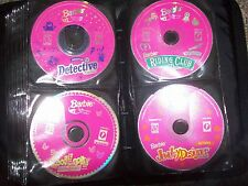 (5) Barbie Cool Looks Fashion Designer CD-ROM PC Jewelry Riding Club Detective