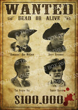 Red Dwarf Gunmen Of The Apocalypse 'Wanted' Poster Glossy Art Print!