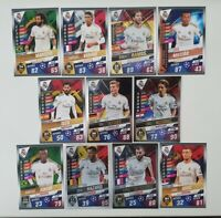 2020 Real Madrid Team Set Match Attax 101 Soccer Cards (11 cards incl 5 Shiny)