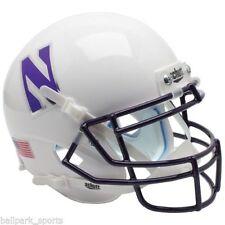 NORTHWESTERN WILDCATS (WHITE) Schutt Mini Helmet