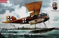 Albatros W.4 Early << Roden #028, 1:72 scale