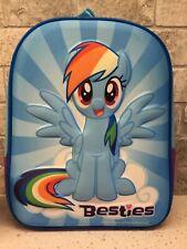 "Hasbro MY LITTLE PONY BESTIES 10"" Rainbow Dash Mini Backpack NEW!!"