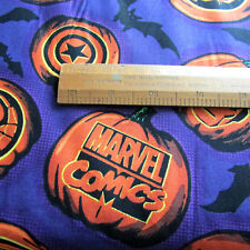 Marvel 100% cotton halloween fabric - per 1/2 m for sewing, crafts and costumes!