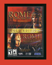 Rome: Total War - Gold Edition (PC, 2006 SAGA) PC Game Complete VG