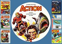 Action (COMPLETE) + Action 21 + Jet & More On PC DVD Rom (CBR FORMAT)