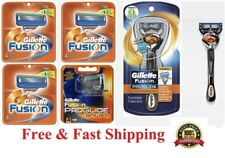 17 Gillette FUSION Manual Razor Blades Cartridge Refill Proglide Flexball Shaver