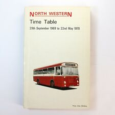 More details for north western time table september 1969 north western road car book + map