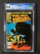 New Mutants #3 CGC 9.4 (1983)