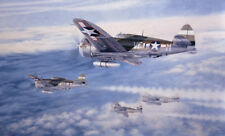 Aviation Art - 8th Air Force P-47 Thunderbolt