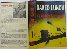 WILLIAM BURROUGHS Naked Lunch INSCRIBED FIRST EDITION