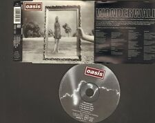 OASIS WONDERWALL 4 track CDSingle 1995 SWAMP SONG  Round Are Way MASTERPLAN