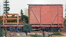 24 FT MOW CABOOSE On3 On30 Model Railroad Rolling Stock Wood Laser Kit RSL1402
