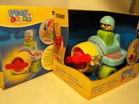 BABY BOY TOY  PLANE PLAY SET  AGE 12 MONTHS PLUS , TOMY PUSH AND GO AIRPLANE