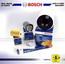 Bosch Service Kit Audi A1 1.4 TDI OIL AIR FUEL CABIN FILTERS (ENG CODE CAYC)