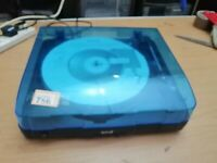 Seal sit up W37RW USB turntable with dust cover, needs a new belt  (786)