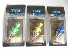 3 x Pellet Bait Bander Tools with FREE Bait Bands.  Carp / Coarse Fishing.