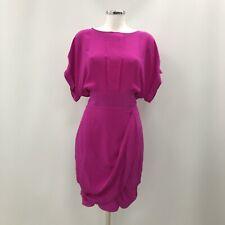 Paul Smith Black Label Sheath Dress Womens Size UK 14 Pink Formal Party 294371