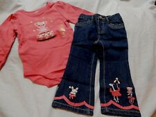 NWT 18-24 GYMBOREE STAR OF THE SHOW TOP & JEANS RV $55