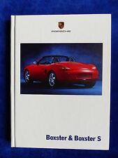 Porsche Boxster & Boxster S - Typ 986 - Hardcover Prospekt Brochure 08.1999