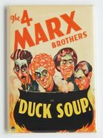 Duck Soup FRIDGE MAGNET movie poster marx brothers