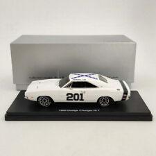 1:43 1969 DODGE CHARGER R/T SE #201 - white Resin Limited Models