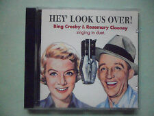 BING CROSBY & ROSEMARY CLOONEY CD - HEY' LOOK US OVER