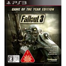 Used PS3 Fallout 3 Game of the Year Edition Japan Import
