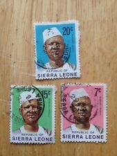 Sierra Leone - Stamps (check description and photos)