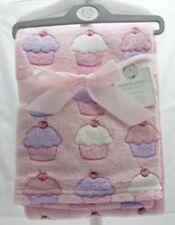 Snuggle Baby couverture  bébé fille rose avec motif cupcakes