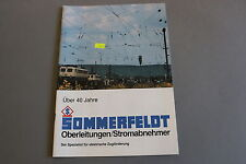 X338 SOMMERFELDT Train catalogue Ho HOm 1989 36 pages 29,7*21 F ANG D catenaire