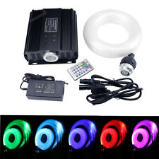 45W RGB DMX LED Fiber Optic Star Ceiling Light Lights Kit Cable 680pcs mixedФ 4m