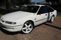 Holden Commodore 1995 WHITE HOLDEN SEDAN
