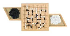 Go - Classic Strategy Game / Wooden Board Game By Goki (56916)