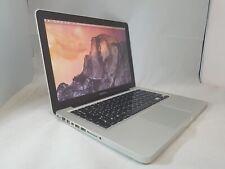 "Apple Macbook Pro 13"" 2.6GHz C2D 8GB, 250GB Grade A A1278, 6M Warranty - Spanish"