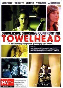 Towelhead DVD REGION 4 - Dark Comedy Drama Toni Collete
