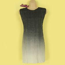 Viscose Summer/Beach Checked Dresses for Women