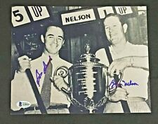 SAM SNEAD & BYRON NELSON SIGNED 8X10 PHOTO BECKETT CERTIFIED
