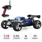 Wltoys A959 1:18 RC Car 2.4Ghz Off Road Truck 4WD 45KM/H High Speed Vehicle Gift