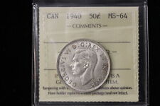 1940 Canada. 50 Cents. ICCS Graded MS-64. (XTN993)
