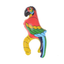 Inflatable Blow Up Parrot Hawaiian Tropical Pirate Party Decoration Toy_ FL