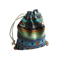 10Pcs Drawstring Jewelry Pouches Cotton Gift Bags Wedding Favors Hot