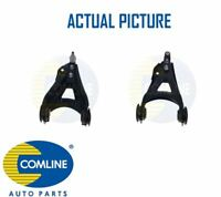 2 x NEW COMLINE FRONT TRACK CONTROL ARM WISHBONE PAIR OE QUALITY CCA2026