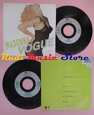 LP 45 7''  MADONNA Vogue Keep it together 1990 france SIRE W9851 no cd mc dvd