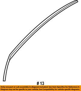 CHRYSLER OEM Front Door-Molding Trim Right 5020498AA