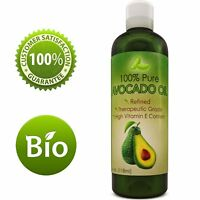 Avocado Oil Antioxidant Nutrient Rich for Hair + Skin + Nails 100% PURE NATURAL