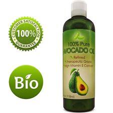 Avocado Oil Antioxidant Nutrient Rich for Hair + Skin + Nails 100% Pure Natural