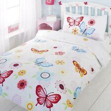NEUF Papillons simple Ensemble de couverture & taie d'oreiller couette -