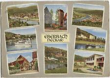 Alte Postkarte - Impressionen von Eberbach-Neckar
