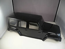 NEW JEEP JK BODY FOR AXIAL SCX10 / AX10 / MOST 1/10 CRAWLERS- GLOSS BLACK