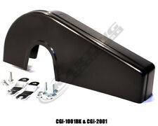 Integral Chain Guard Quick Release With Hardware (Black), Go Kart Racing